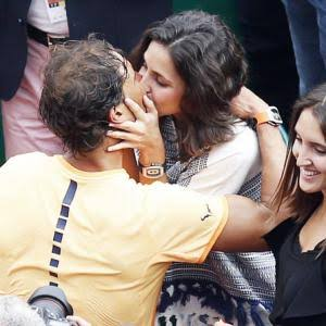 Rafael nadal and His Wife